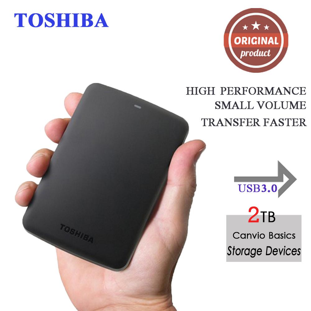"Toshiba Canvio Basics 2.5"" Portable external hard drive disk 2tb hdd usb3.0 externo disco Storage Devices for Laptop Desktop(China (Mainland))"