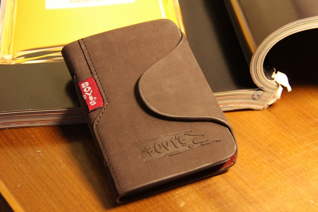 Гаджет  2014genuine leather credit card holder business cards cover for a driver