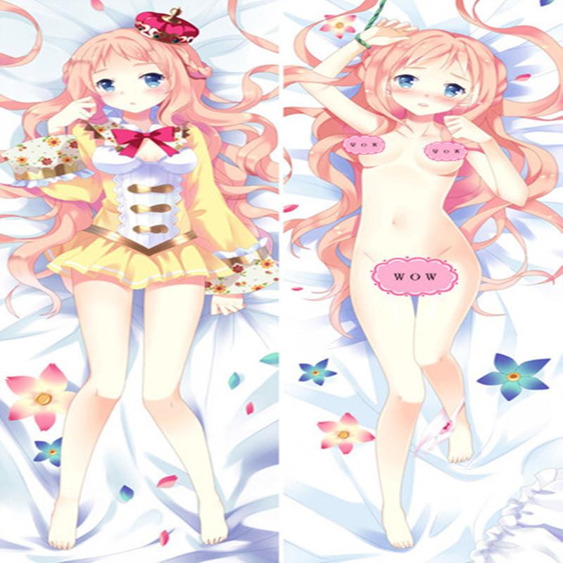 3D Print Anime Dakimakura hugging Cover HD Japanese Pillow Case 150cm X 50cm peach skin 114 Lovely Gift - Professional Animation case store