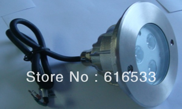 New 2014 Hot selling,9W,Edison single color,24V,IP68, stainless steel housing,LED swimming light wholesale(China (Mainland))