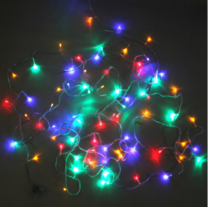 Half String Of Christmas Lights Blinking : Aliexpress.com : Buy Free shipping 10 meters lantern string lights flashing LED string lights ...