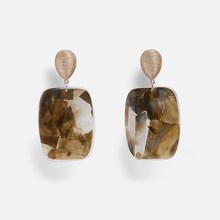 Miwens Za 2019 Nieuwe Stijl Metalen Hars Kralen Stone Shell Big Drop Hanger Opknoping Oorbellen Vrouwen Groothandel Handgemaakte Sieraden A351(China)