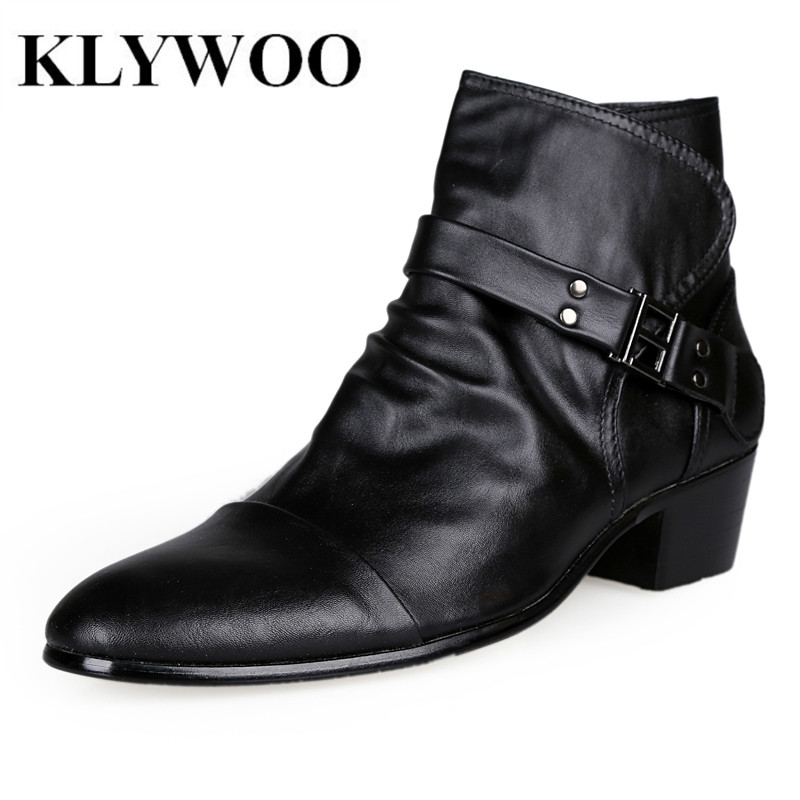 sale shoes autumn winter leather boots for