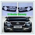 For VW Passat B6 DRL 2006 2007 2008 2009 2010 2011 New Pair of LED Car