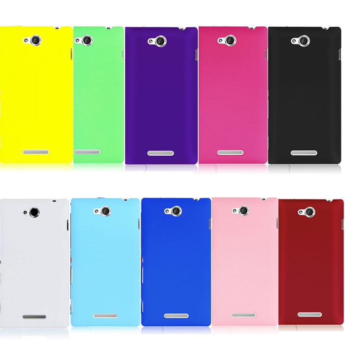 Hard Plastic Back Cover Phone Case Protective Skin Sony Xperia C S39h C2305 sony_xperia c2305 case cover+ - Yudi-best store