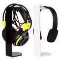 Universal Acrylic Earphone Headset Hanger Holder Headphone Display Stand 2 Color