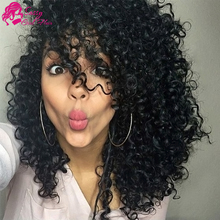 7a Peruvian Kinky Curly Virgin Hair Weave Kinky Curly Crochet Hair Extensions 100 Human Hair Sew In Extensions Mocha Hair