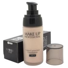 Kosmetische Zahnaufhellung flüssige Foundation Concealer feuchtigkeitsspendende Wasserdicht Nude Schönheit Make-up LY4(China (Mainland))