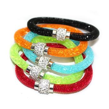[ Мин. $ 10 ] Stardust браслеты с кристалл магнитный застежка браслеты Pulseiras ...