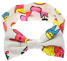 Buy TWDVS Kids Cartoon Rabbit Ears Bows Knot Headband Hair Bands Kids Newborn Hair Accessories W208 for $1.02 in AliExpress store