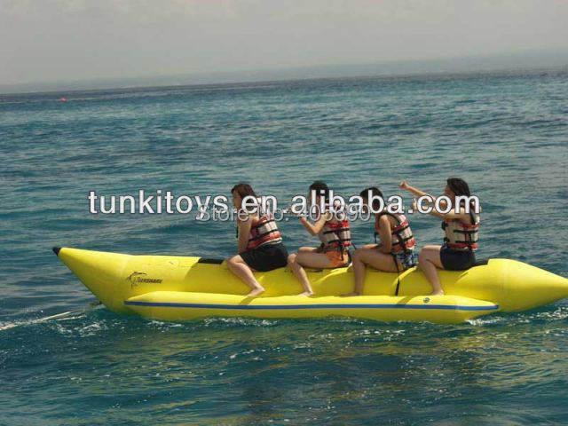 Inflatable Banana Boat Used on Water Game(China (Mainland))