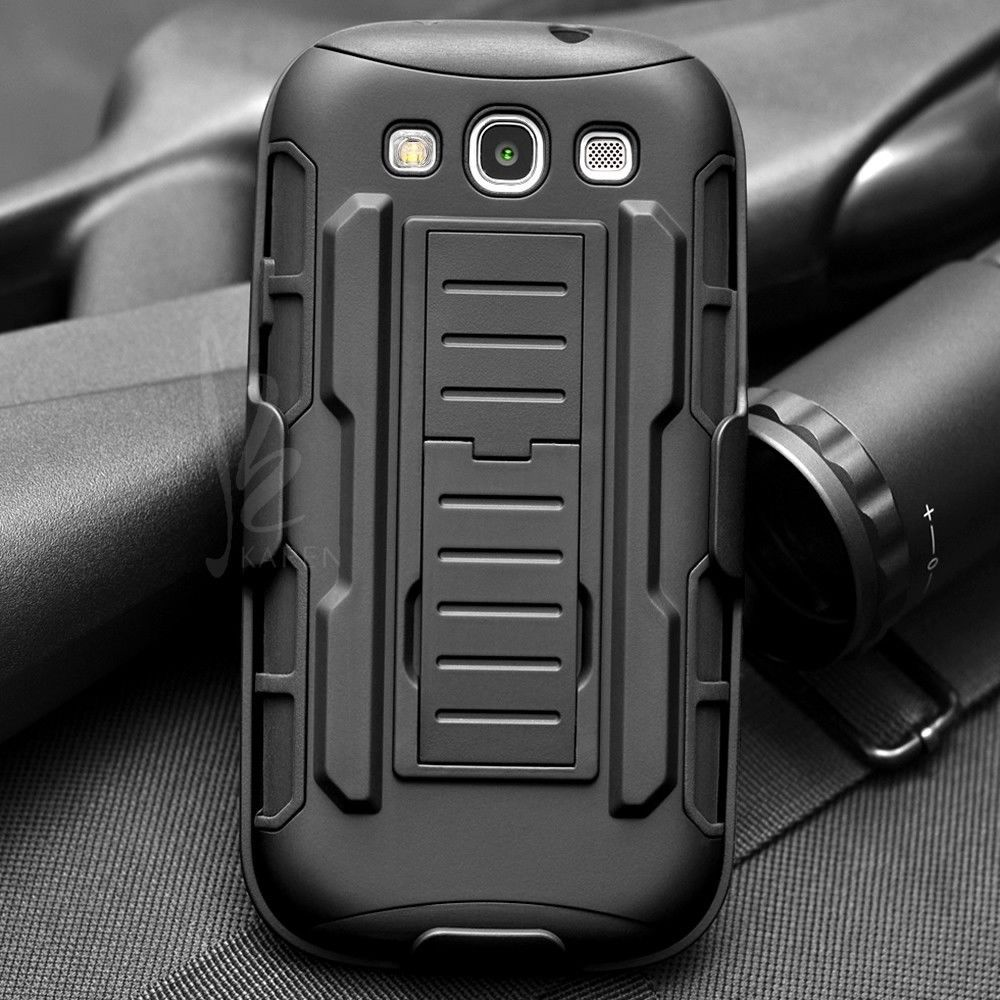 Future Armor Impact Shockproof Hard Case For Samsung Galaxy S3 I9300 S3 Neo I9300i S3 Duos Cover Holster + Flim + Touch Stylus(China (Mainland))