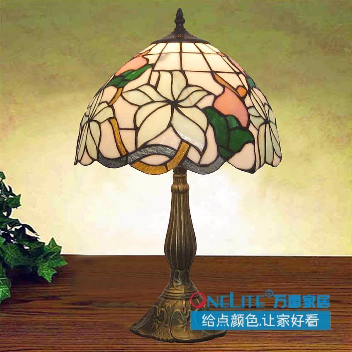 Hot Sale Lily 12 Tiffany Table Lamp Lighting Bed Lighting