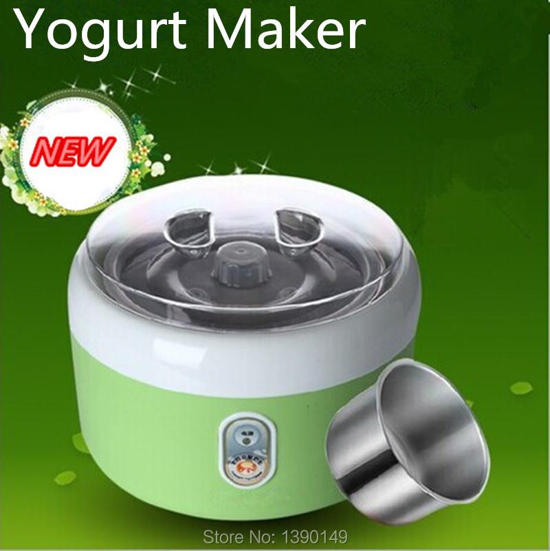 Free shipping 1.2L 15W Electric Automatic Yogurt Maker kitchen machine Household yoghurt Machine Rice Wine