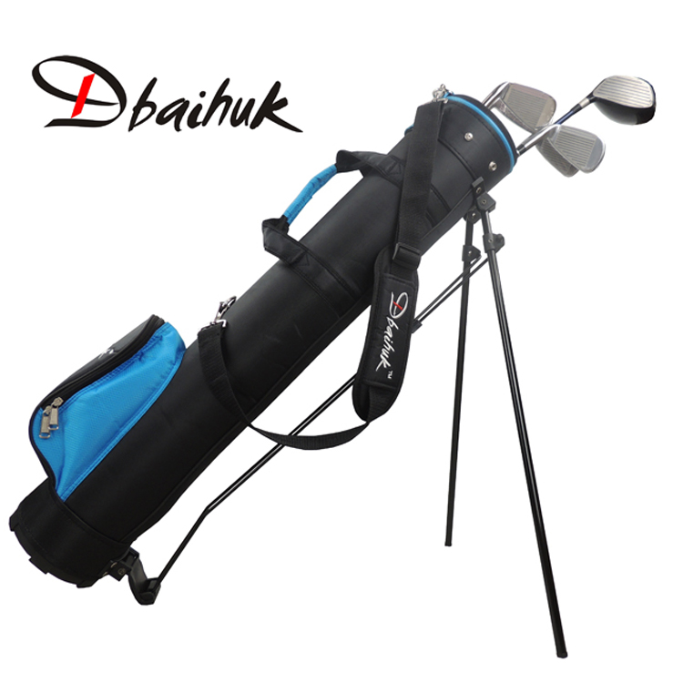 Free shipping Golf Stand Bag golf stents gun bag golf bag nylon bag 7-10 pieces clubs holding(China (Mainland))
