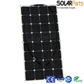 100W portable and flexible solar panel directly supplied by Chinese solar manufacturer