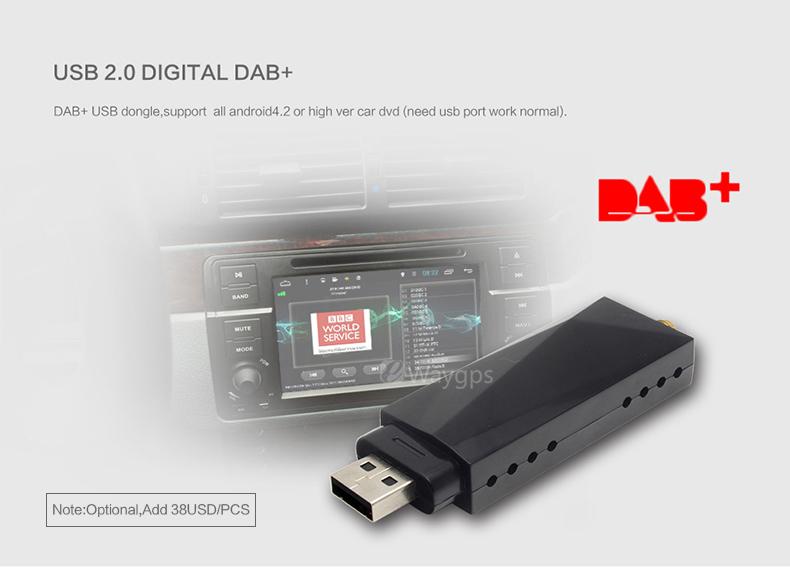 Купить USB 2.0 Digital DAB-Радио Тюнер Приемник Стик Для Android Dvd-плеер Автомобиля Авторадио Стерео DAB + dab Радио android