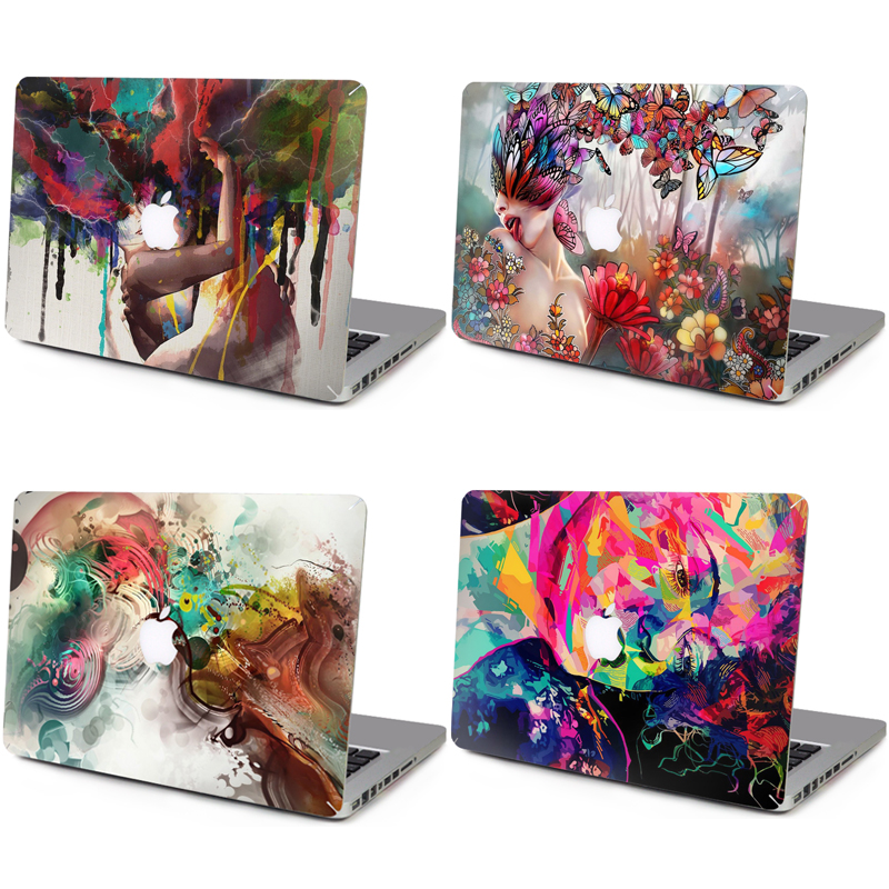 Super Cool Laptop Sticker Computer Stickers Cover For 13.3 15.4 inch MacBook Pro Air Retina 15 Side A Notebook Skin 20 Style(China (Mainland))