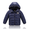 Hot Selling Baby boy girls winter Jackets 2016 New Sport Jacket Kids Coat Active Hooded High