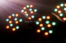 2 шт./лот бесплатная доставка американской популярной из светодиодов плоским тонкий пар 18 x 3 Вт RGB из светодиодов мытья свет dj эффект освещения