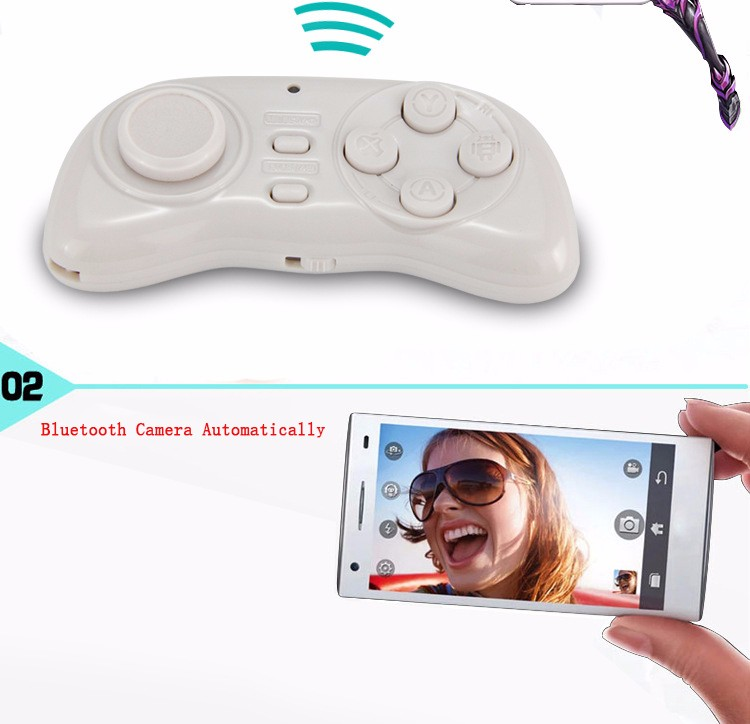P New 3-in-1 Gaming Mini Mouse Smart for PC Portable bluetooth mobile game handle camera Universal wireless phone controller