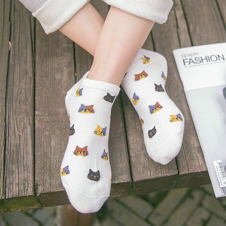 caterpillar socks free delivery aliexpress buy 1 pair high quality animal cat socks cotton boat
