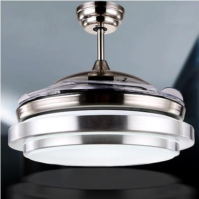 Ultra Quiet 36 Hidden Blade Ceiling Fan Lamps 110 240v