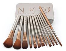 NAKED3 makeup brushes 12pcs/set professional Makeup Brush kit Makeup Brush Sets makeup Tool(China (Mainland))