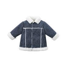 DB8707 dave bella/осенне-зимняя модная куртка для маленьких мальчиков Детское пальто высокого качества верхняя одежда для малышей(China)