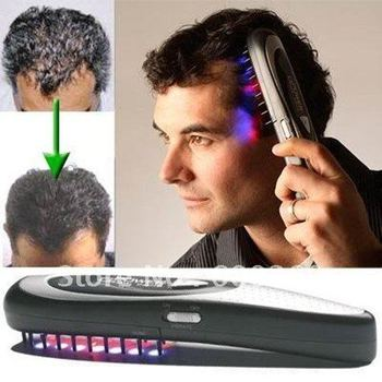 free shipping Laser Treatment Hair Loss Stop Regrow By Power Comb Kit#8322
