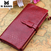 Serpentine 2015 genuine leather women wallets long luxury female wallet American and European style fashion design free shipping