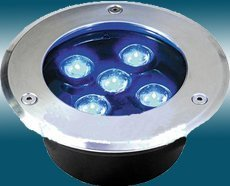 LED Underground light;5*1W;IP67