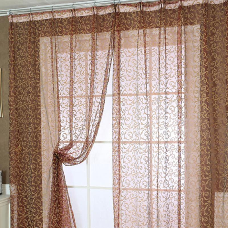 2015 pteris window screens curtains door balcony curtain for Balcony curtains