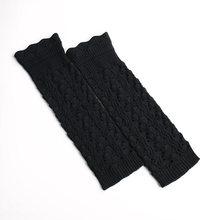La MaxPa Örgü Bacak Isıtıcıları Kadınlar Hollow Dantel Çizme Çorap Turn-up Alt Diz Yüksek bot paçaları Jakarlı Örgü Uzun bacak Körüğü k2188(China)
