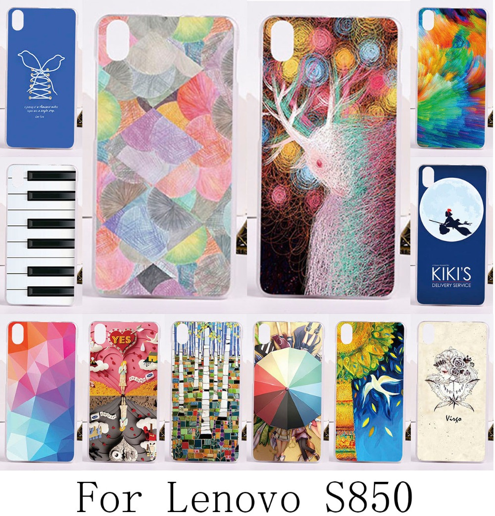 Durable Shell Hot! New Multi species Painted pattern Dream Bird mobile phone skin case Cover For Lenovo S850 T hard Phone shell(China (Mainland))