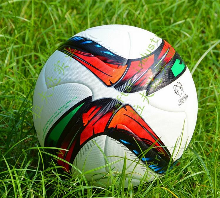 2016 European Qualifiers Size 5 Seamless PU Soccer Ball Top Quality France European Qualifiers Football With Gas needle!!!(China (Mainland))
