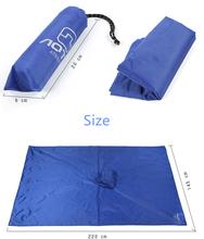 Multi purpose Outdoor Poncho Raincoat Bicycle rain wear Camping Tent Mat Travel Equipment Orange Blueling Travel