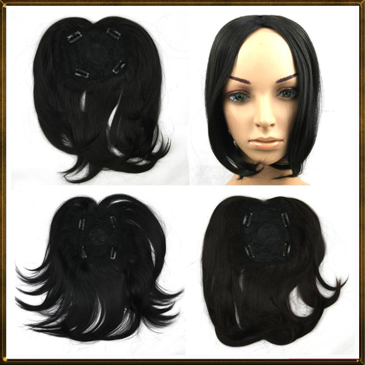 woman toupee high quality, long straight remy hair toupees, hair closures, hair extension, lace top closure, 1pc