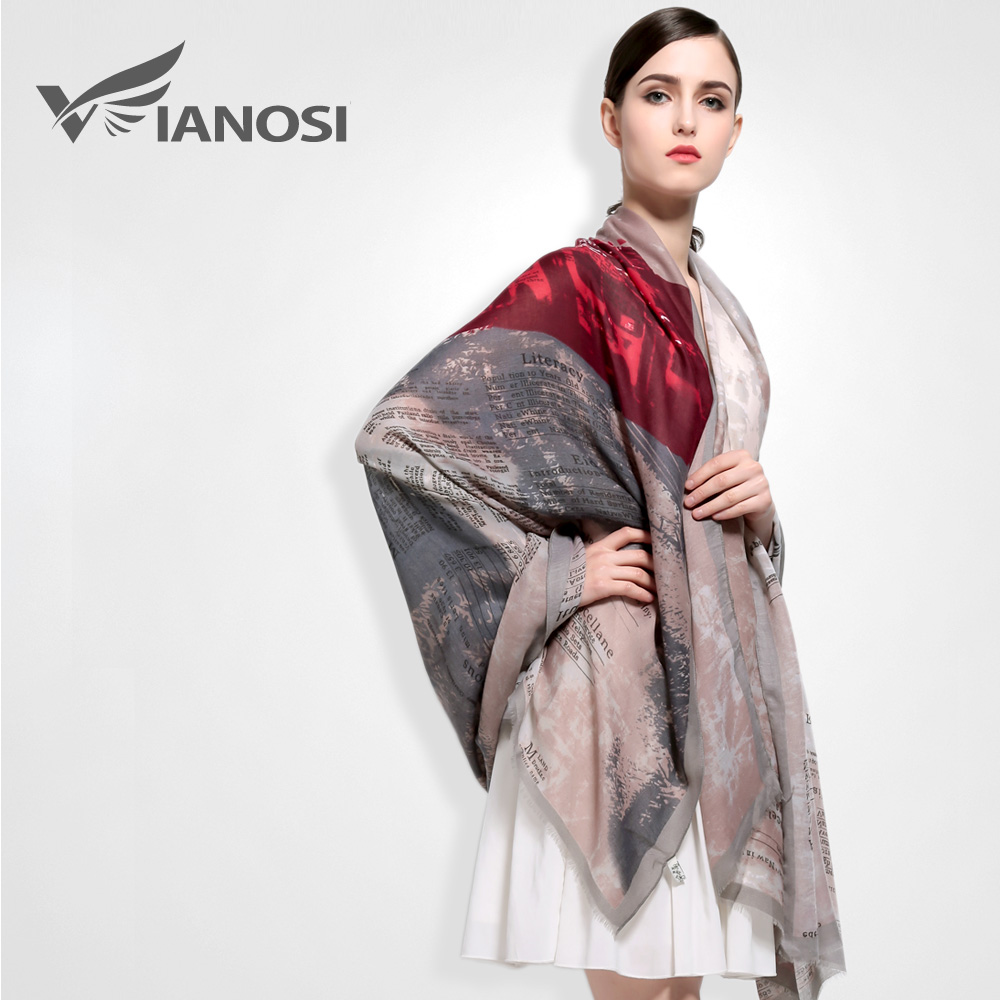 vianosi 2016 new 190 110cm fashion cotton scarf