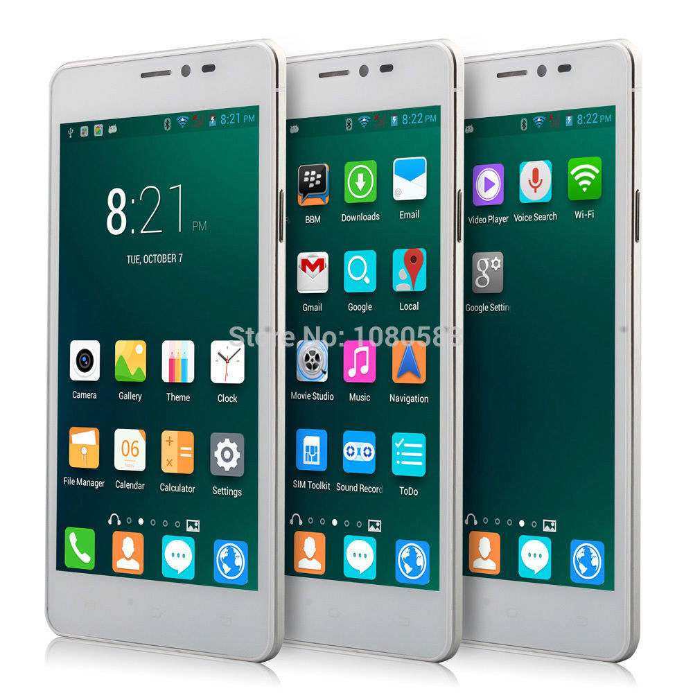 """5"""" Android 4.4.2 MTK6572 Dual Core Cell Phone RAM 512MB ROM 4GB Unlocked Quad Band AT&T WCDMA GPS Capacitive Smartphone DX V10HA(China (Mainland))"""