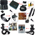 For Gopro HERO/Ion Air Pro/Xiaomi Yi Kit Accessories for Sony Action Cam HDR AS20 AS200V AS30V AS100V AZ1 mini FDR-X1000V/W 4 k