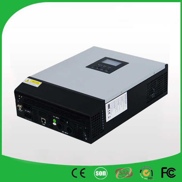 48VDC 5000VA Peak Power 10000VA Pure Sine Wave Solar Hybrid Inverter Built-in 60A MPPT Controller With Communication LCD(China (Mainland))