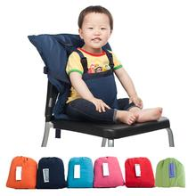 Portable Baby Seat Kids Feeding Chair for Baby Child Infant Safety Belt booster Seat High feeding Chair 6 colors(China (Mainland))
