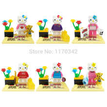Wholesale JLB 3D18901-18906 Minifigures 60pcs/lot Building Blocks Sets Model Classic Figure Toys Bricks For Children