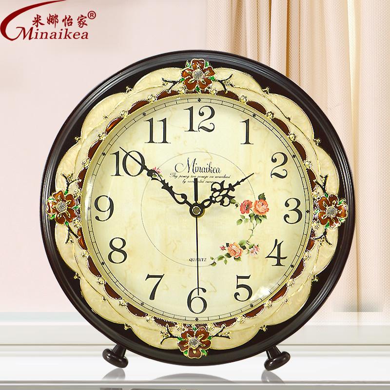 European Creative Fashion Mute Large Clock Modern Minimalist Living Room Bedroom Garden
