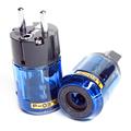 P 037e C 037 24k Gold Plated Pure Copper Poles EU Power Plug ac power cord