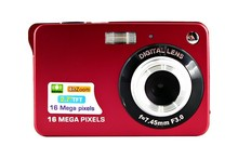 16Mp Max 3Mp CMOS Sensor Digital Cameras 4x Digital Zoom and Rechareable Lithium Battery, Free Shipping