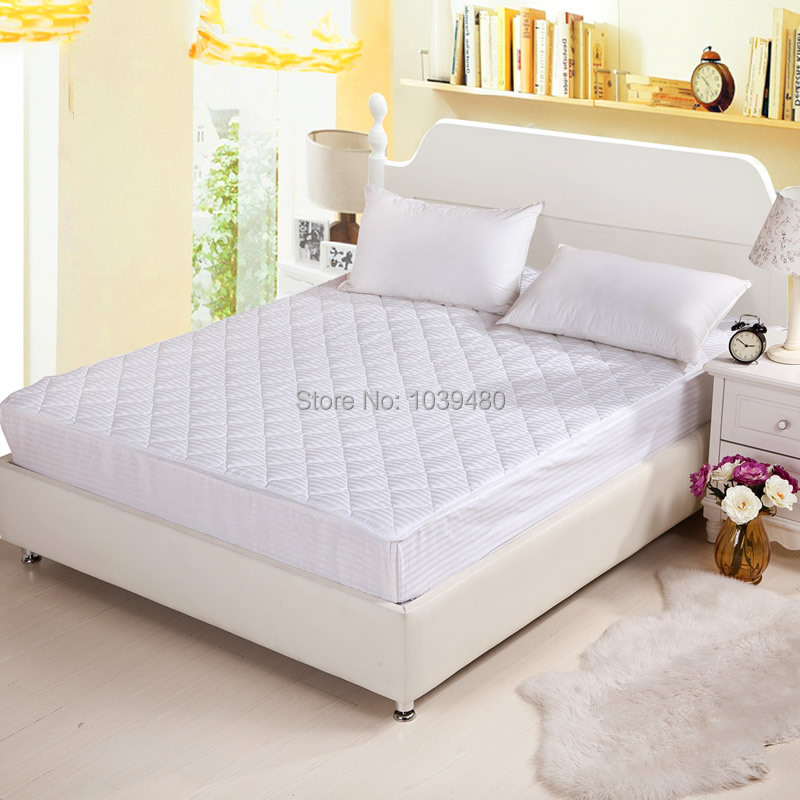 100 cotton fitted sheet twin queen king size bedding set bed sheet solid plain elastic mattress Queen size bed and mattress set