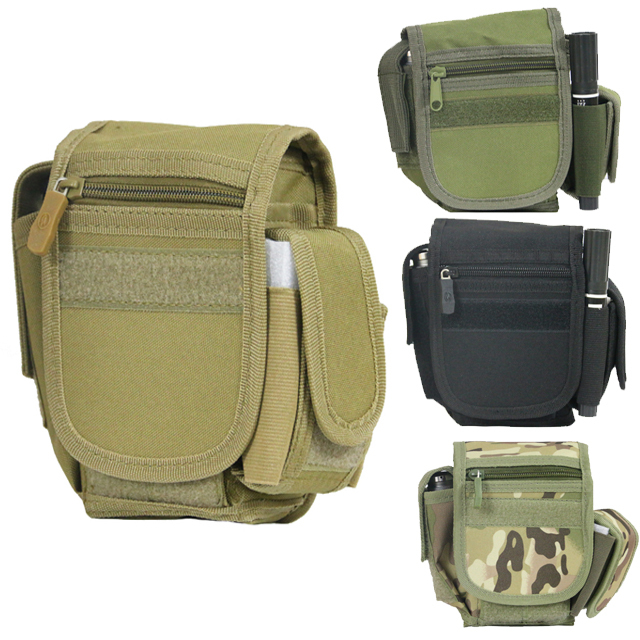 EDC Mini Tactical Molle Waist Pack Military Casual Belt Pouch Bags Men Outdoor Sport Travel - Live good hao's store