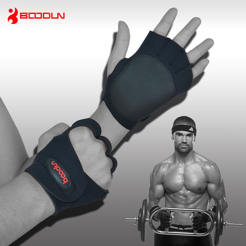 Anti- Skidding Wear-Resistance Sport Cycling Fitness GYM Weightlifting Gloves Exercise Training - boodun Riding supplies store